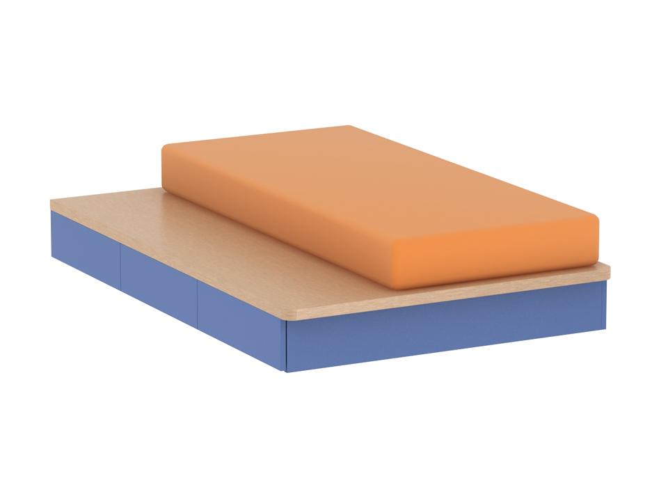 Купить Кровать Pinokkio light green в интернет магазине дизайнерской мебели и аксессуаров для дома и дачи