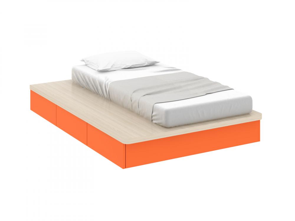Кровать Pinokkio orange