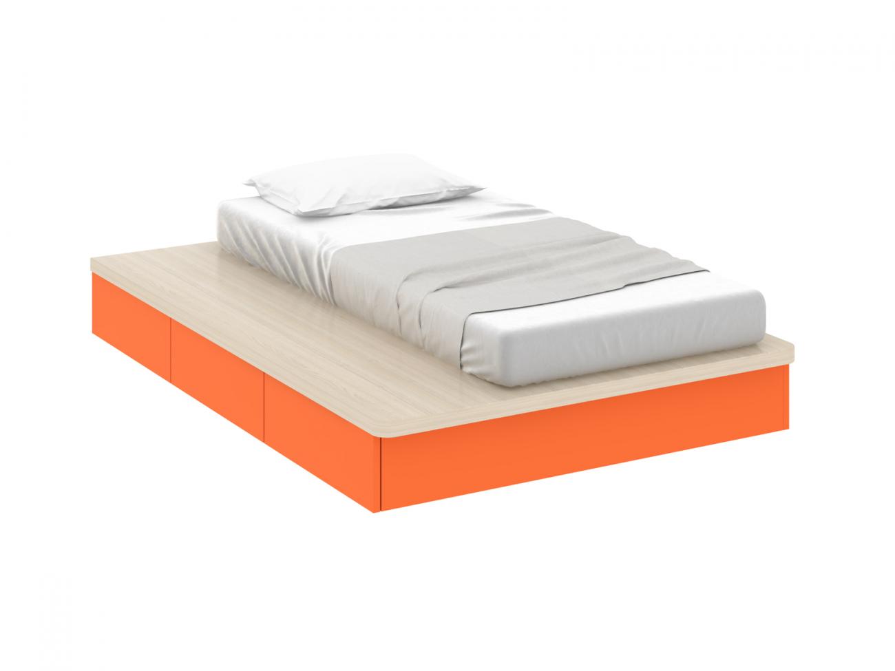 Купить Кровать Pinokkio orange в интернет магазине дизайнерской мебели и аксессуаров для дома и дачи