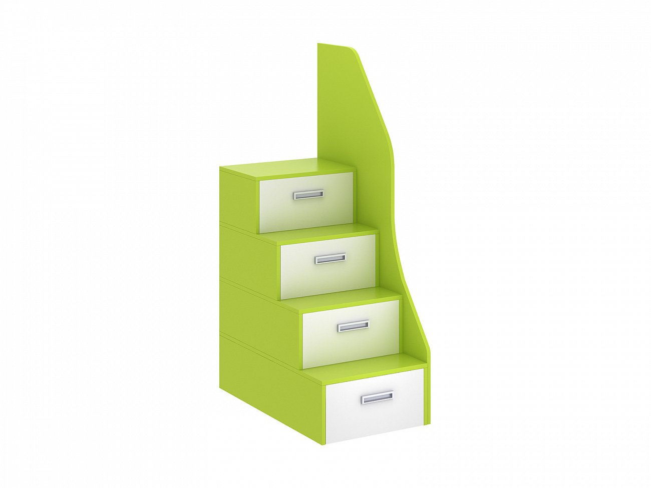 Купить Лестница-комод Pinokkio light green в интернет магазине дизайнерской мебели и аксессуаров для дома и дачи