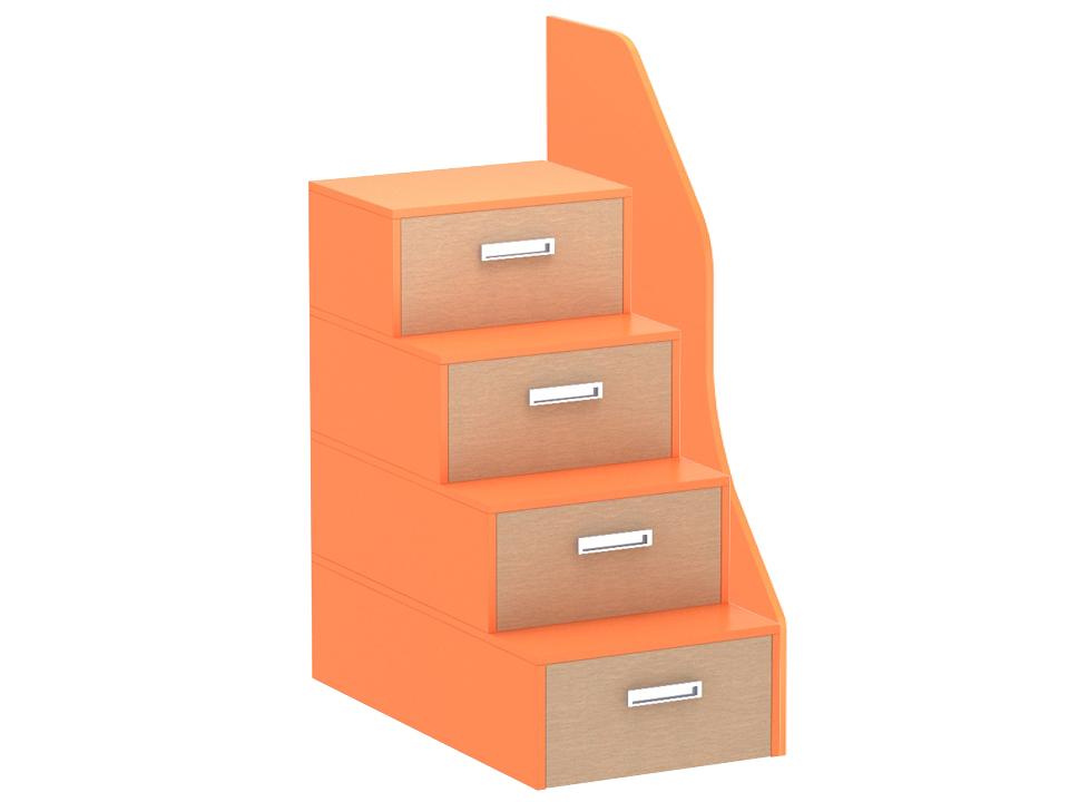 Купить Лестница-комод Pinokkio orange big в интернет магазине дизайнерской мебели и аксессуаров для дома и дачи