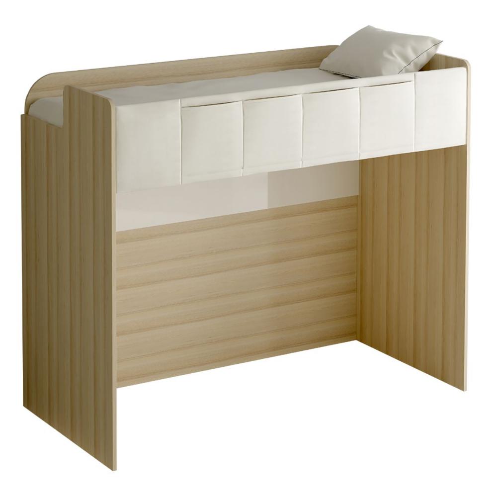 Кровать-чердак Play светло-коричневая