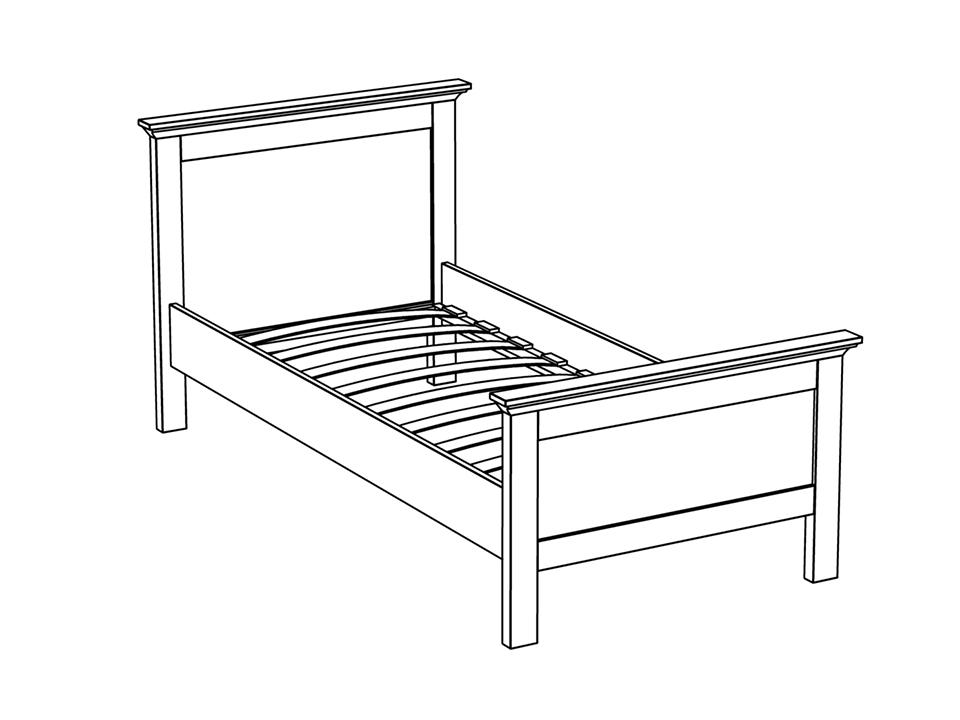 Кровать Reina Reina