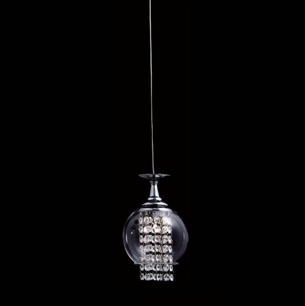 Купить Подвесной светильник Crystal Lux Chik SP ChromeА в интернет магазине дизайнерской мебели и аксессуаров для дома и дачи