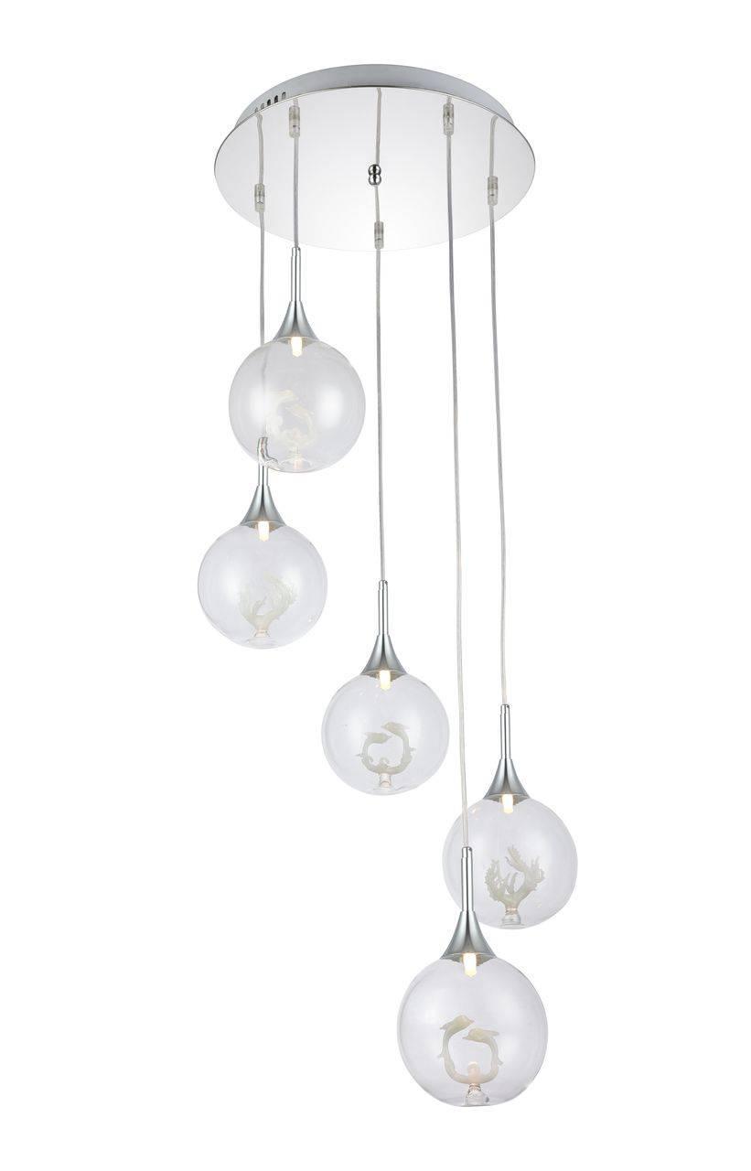 Купить Подвесной светильник Favourite Delphin -P в интернет магазине дизайнерской мебели и аксессуаров для дома и дачи