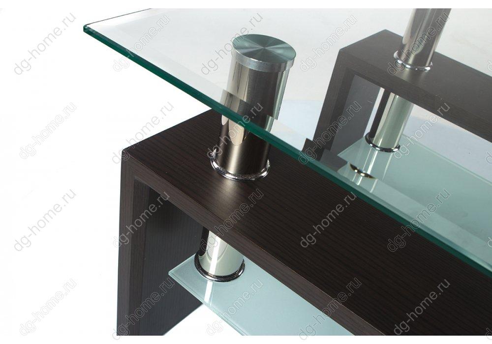 Стол стеклянный ST-052 венге