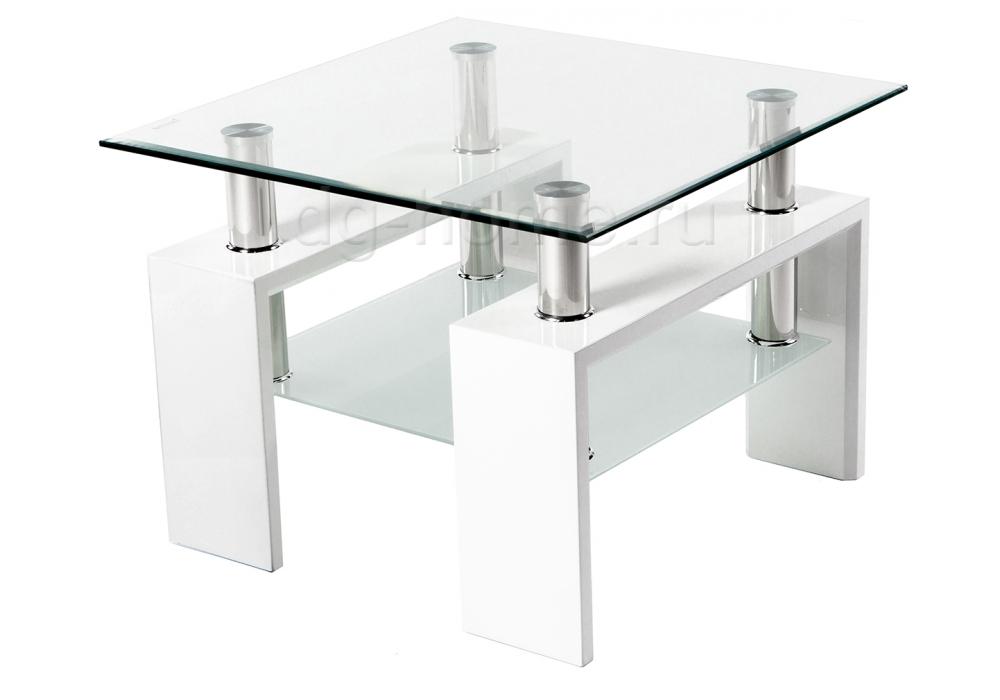 Стол стеклянный ST-052 белый