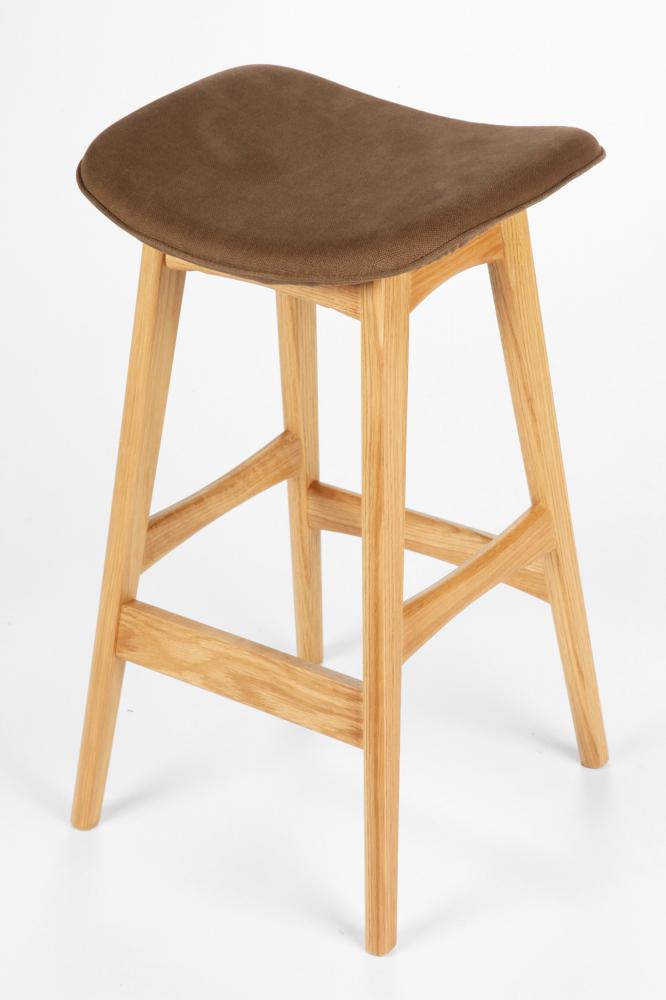 Барный стул Allegra белый дуб