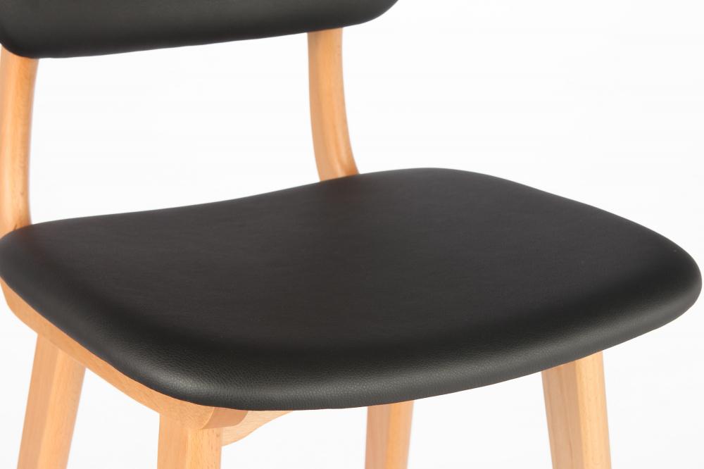 Барный стул Civil 2 черный