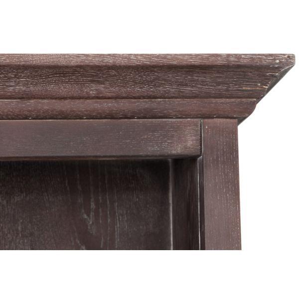 Шкаф книжный коричневый