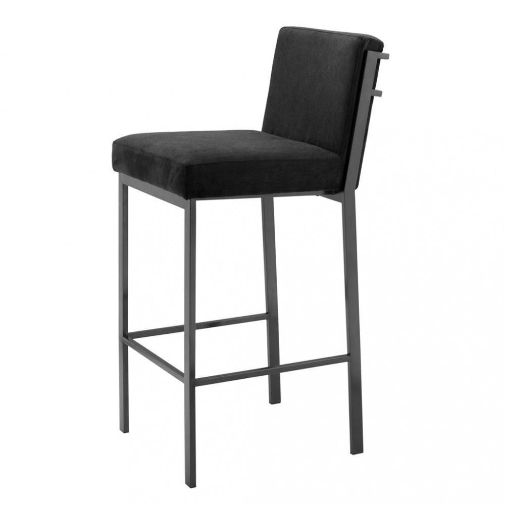 Барный стул Scott от Eichholtz черный хром