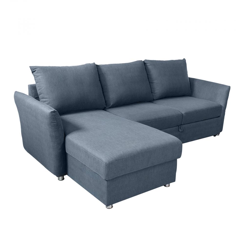Диван-кровать раскладной William Shakespeare Серый DG-HOME Размер спального места - 151х85х92 см.