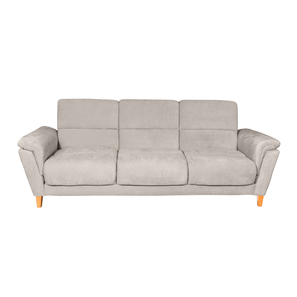 Диван-кровать раскладной Lewis Carroll Светло-серый