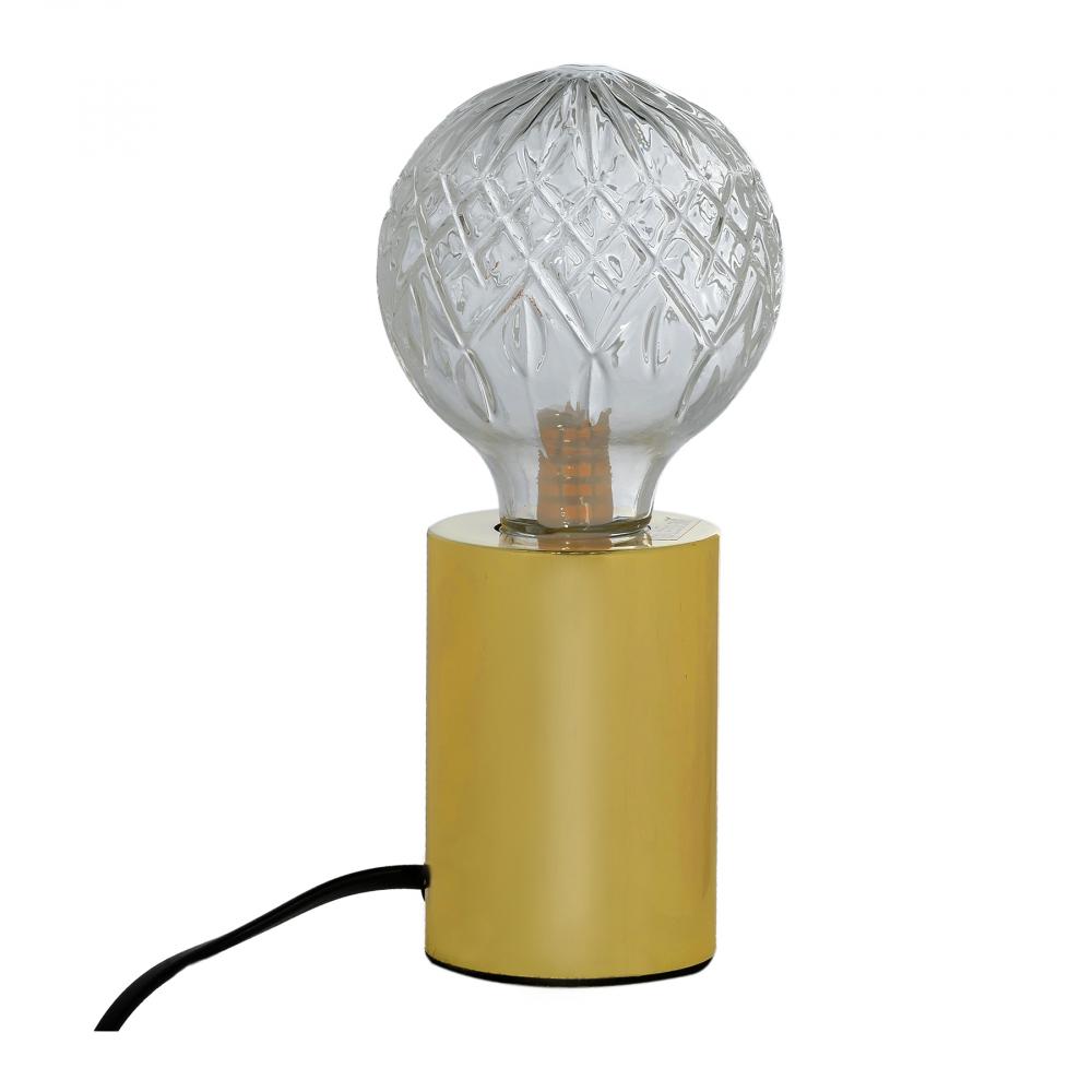 Настольная лампа Williams Золотая Прозрачная