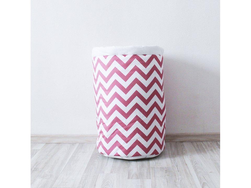Корзина Pink Zigzag