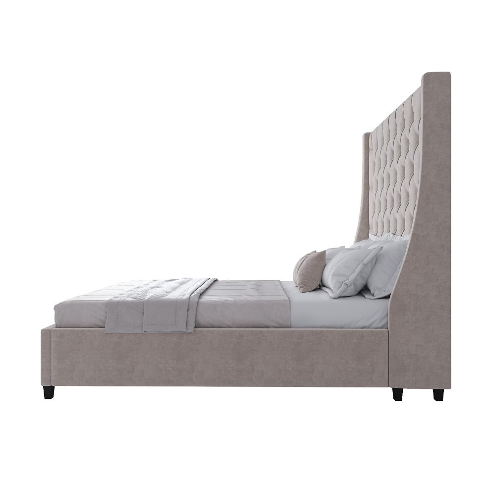 Кровать Ada 160х200 Серый МР