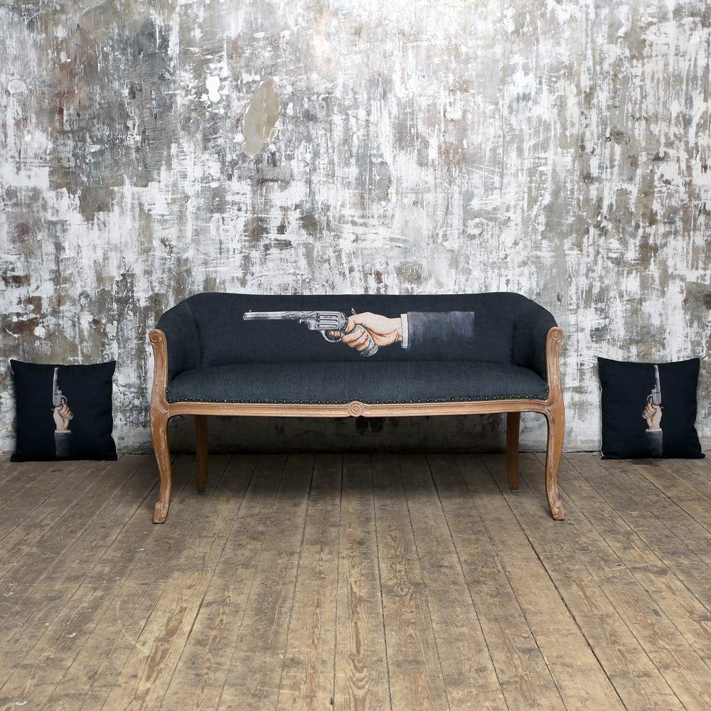 Декоративная подушка «Агент», версия 2
