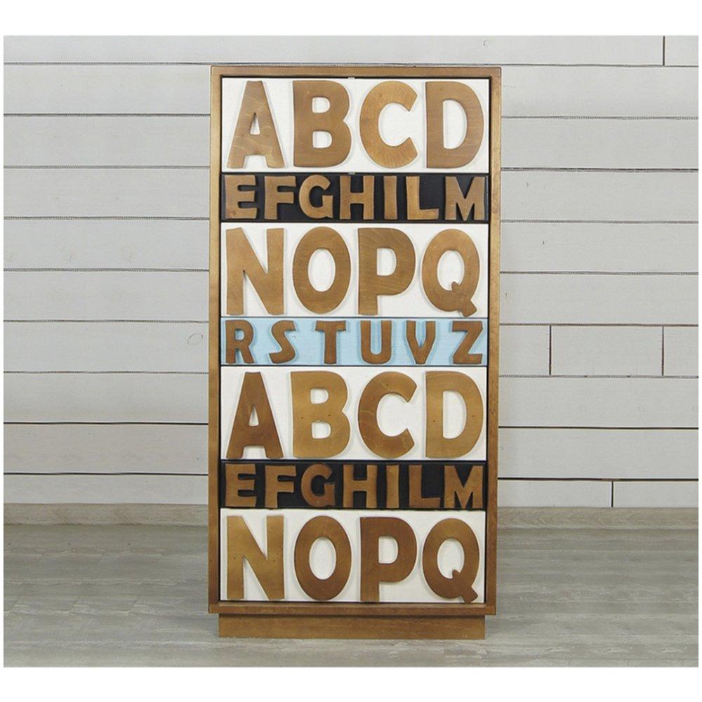"""Комод """"Alphabeto Birch"""""""