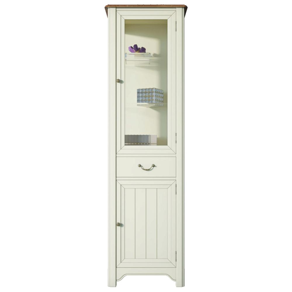 """Шкаф-витрина """"Olivia"""" в бежевом цвете"""
