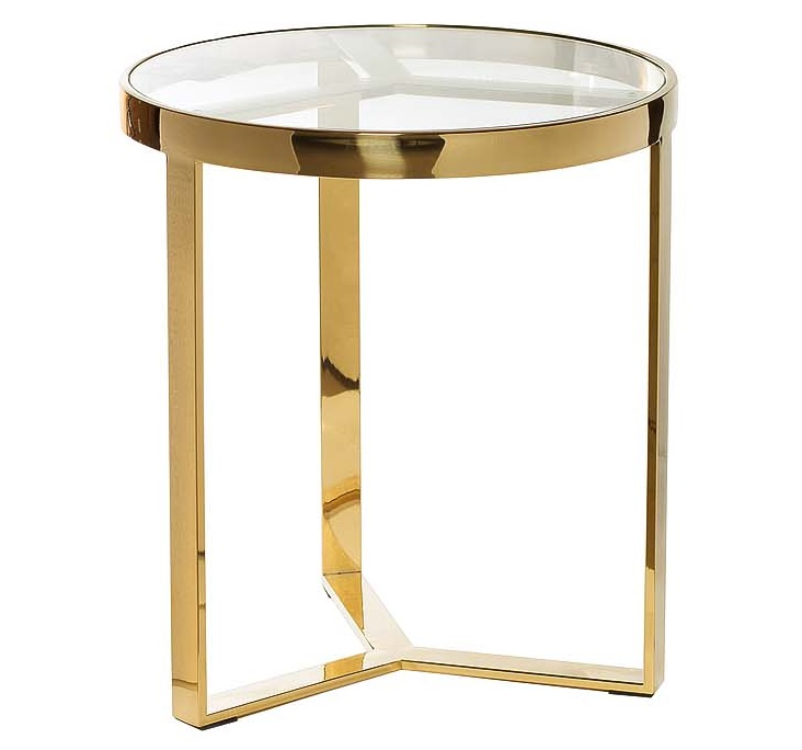 Стол журнальный Soho Gold  50х50х53 см