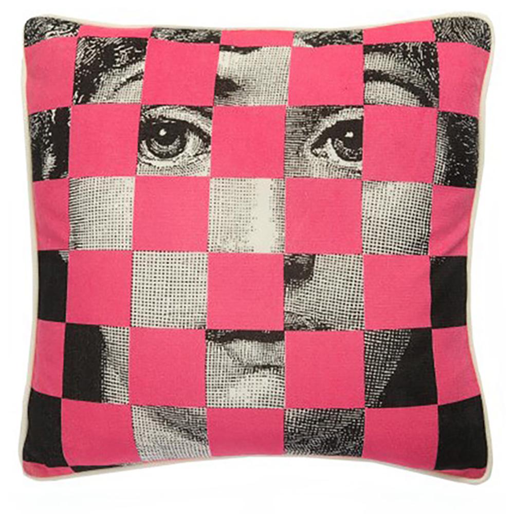 Подушка с портретом Лины Пьеро Форназетти • Faces Five