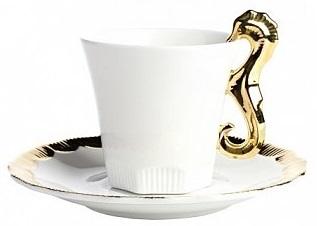 Купить Чайная пара Marine Hoss Gold в интернет магазине дизайнерской мебели и аксессуаров для дома и дачи