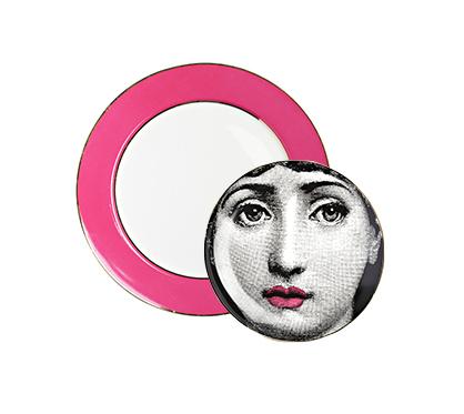 Комплект тарелок Пьеро Форназетти Pink Faces от DG-home