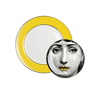 Купить Комплект тарелок Пьеро Форназетти Amber Faces в интернет магазине дизайнерской мебели и аксессуаров для дома и дачи