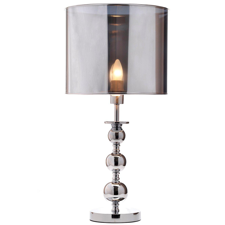 Настольная лампа MidtownНастольные лампы<br>ПВХ абажур, основание из хромированного <br>металла<br><br>Цвет: прозрачный, серебро<br>Материал: Пластик, Металл<br>Вес кг: 2,5<br>Длина см: 32<br>Ширина см: 32<br>Высота см: 66