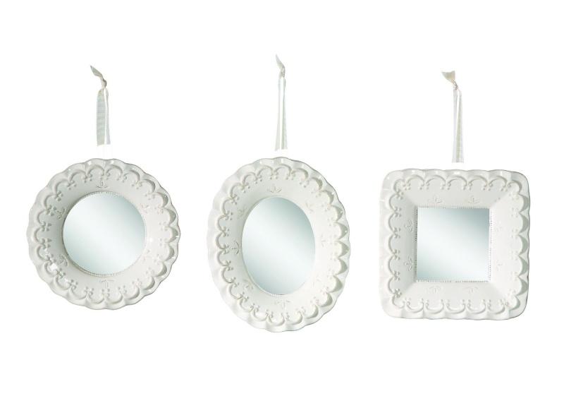 Купить Набор зеркал с лентами Tenerezza в интернет магазине дизайнерской мебели и аксессуаров для дома и дачи