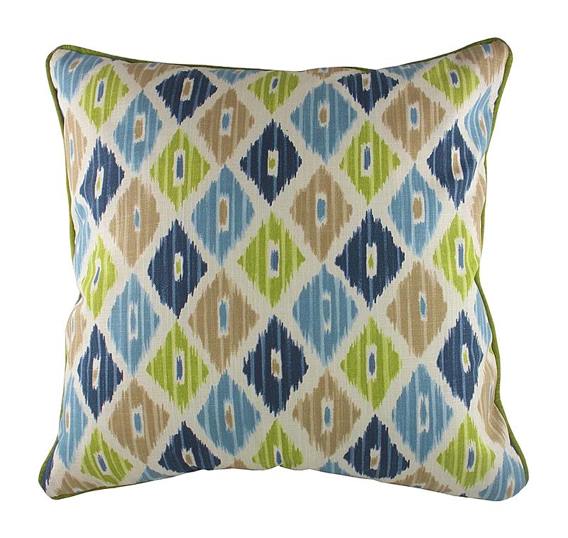 Подушка с орнаментом Ika Chambray dg подушка с собачкой mickey doggie