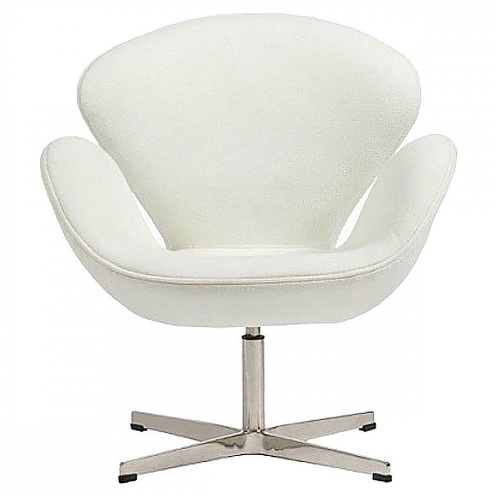 Фото Кресло Swan Chair Белый Кашемир. Купить с доставкой