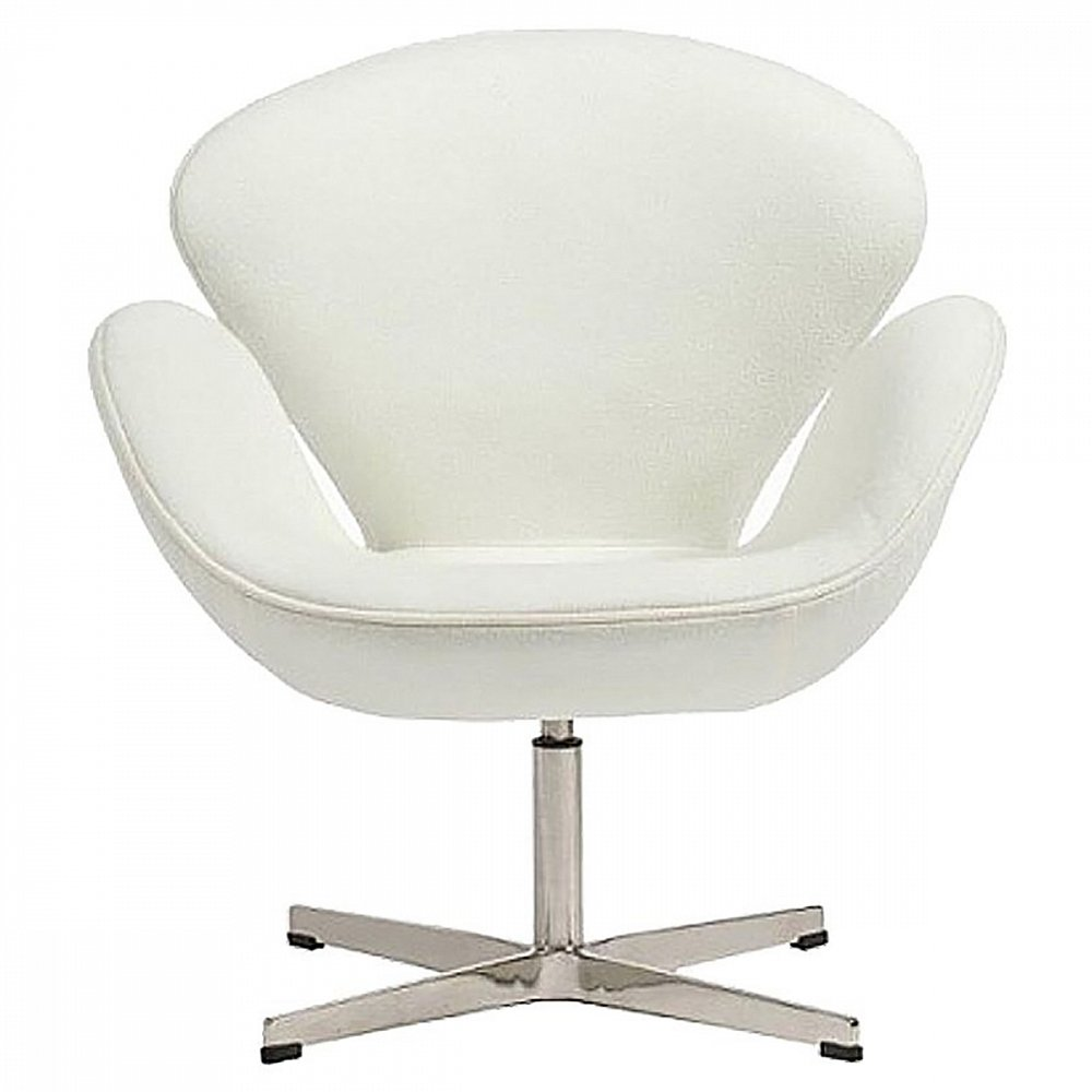 Кресло Swan Chair Белый Кашемир