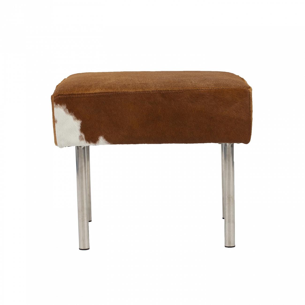 Купить Табурет Decoboco Pony Brown-White в интернет магазине дизайнерской мебели и аксессуаров для дома и дачи