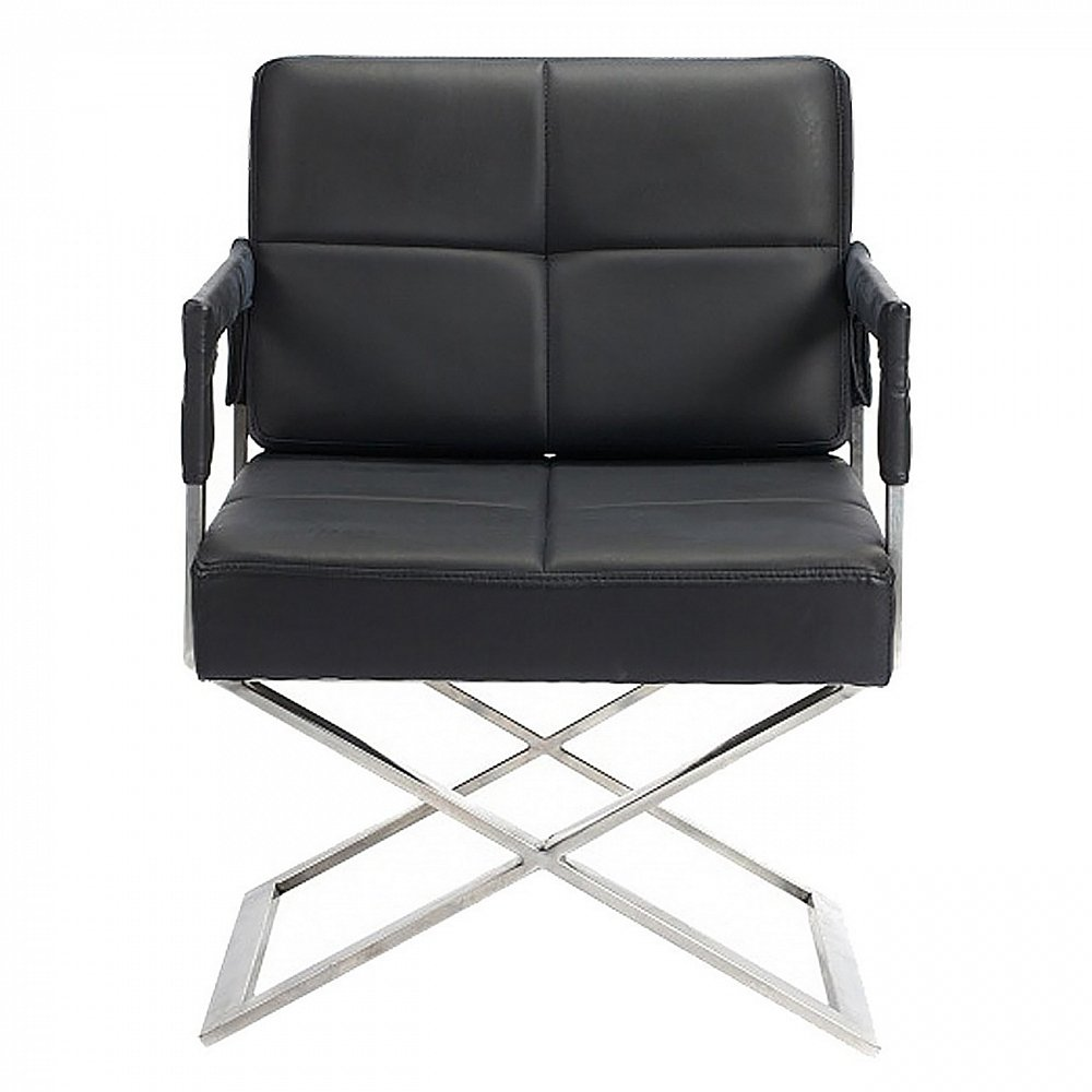 Кресло Aster X Chair Черная Кожа Класса Премиум,  DG-F-ACH307BLL от DG-home