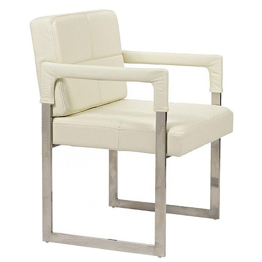 Кресло Aster Chair Cream Premium Leather