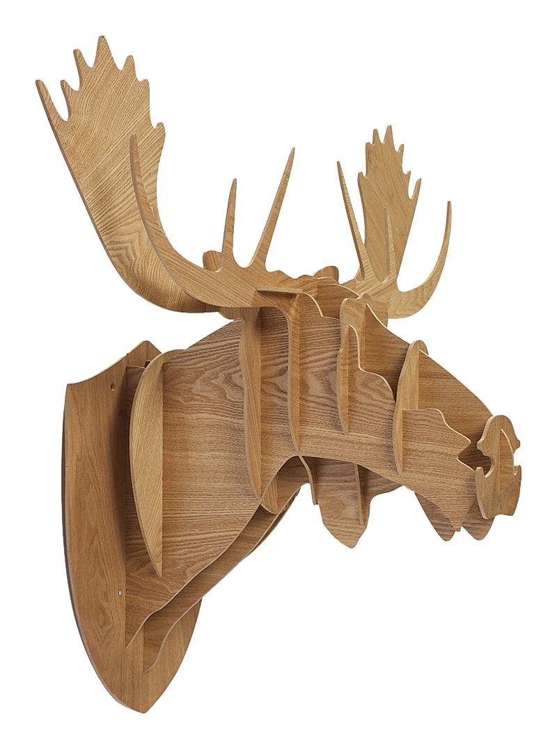 Купить Декоративная голова оленя Sand Huge в интернет магазине дизайнерской мебели и аксессуаров для дома и дачи