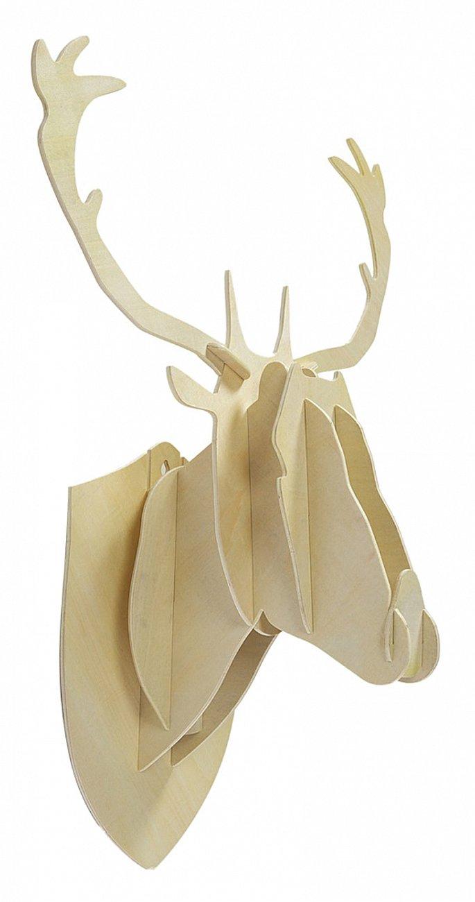 Купить Декоративная голова оленя Ivory Big в интернет магазине дизайнерской мебели и аксессуаров для дома и дачи