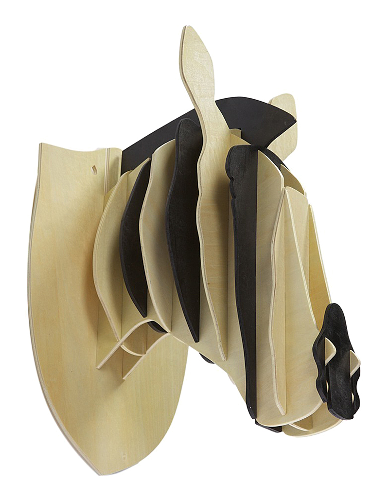 Декоративная голова зебры IvoryДекоративные головы<br>Бежевая декоративная голова зебры — это <br>оригинальный предмет украшения интерьера, <br>который привнесет в него изюминку, сделает <br>неповторимым и изысканным. Аксессуар изготовлен <br>из высококачественного материала и собирается, <br>как деревянный пазл. Голова роскошно будет <br>смотреться на стене в комнате, оформленной <br>как в современном, так и в классическом <br>стиле. Создайте уют в вашем доме!<br><br>Цвет: Бежевый, Чёрный<br>Материал: МДФ<br>Вес кг: 1,8<br>Длина см: 47<br>Ширина см: 27<br>Высота см: 35