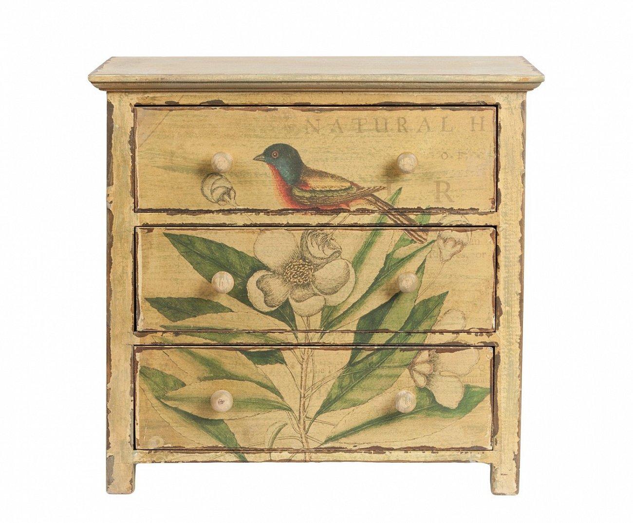 Купить Декоративный мини-комод для хранения мелочей Pittura в интернет магазине дизайнерской мебели и аксессуаров для дома и дачи