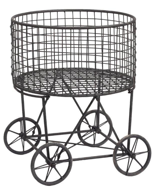 Купить Винтажная корзина для белья Laundry Small в интернет магазине дизайнерской мебели и аксессуаров для дома и дачи