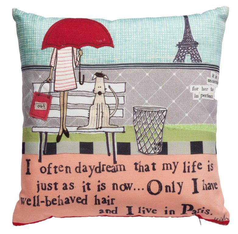 Подушка с рисунком Vita Di Citta dg подушка с собачкой mickey doggie