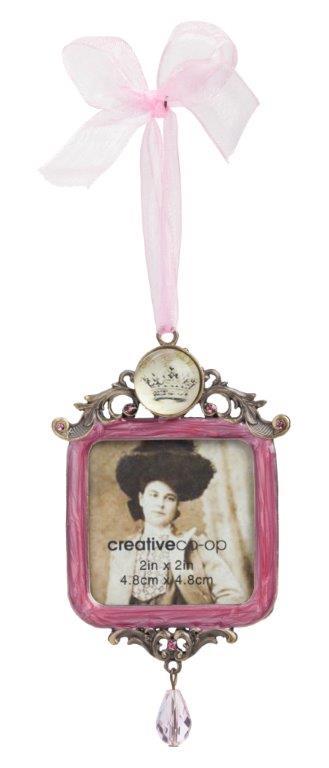 Подвесная декоративная фоторамка Principessa Pink