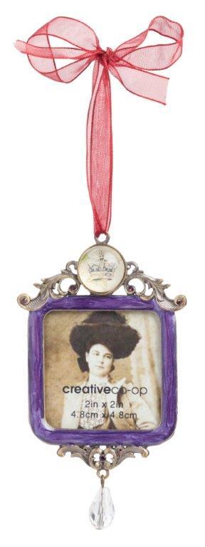 Фото Подвесная декоративная фоторамка Principessa  Violet. Купить с доставкой