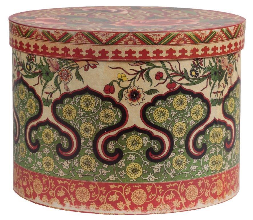 Купить Декоративная коробка с орнаментом Elefante в интернет магазине дизайнерской мебели и аксессуаров для дома и дачи