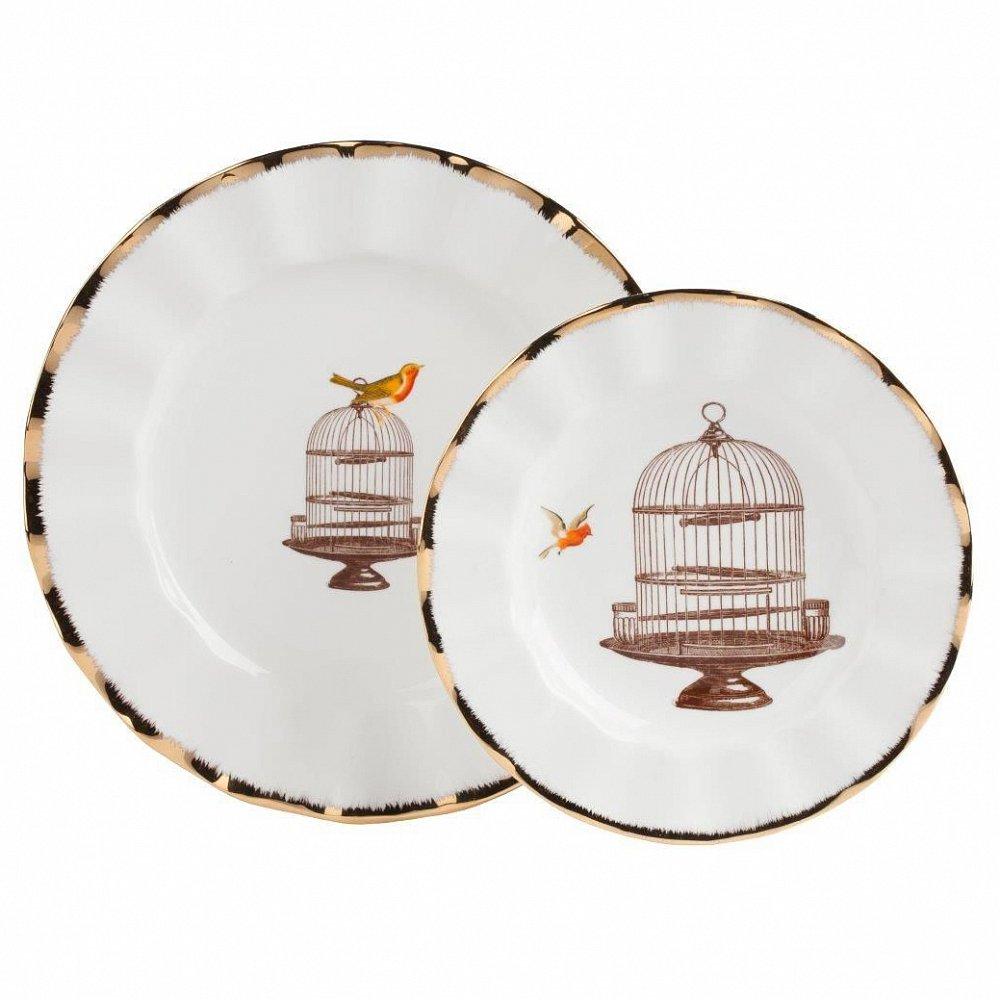 Комплект тарелок Welle