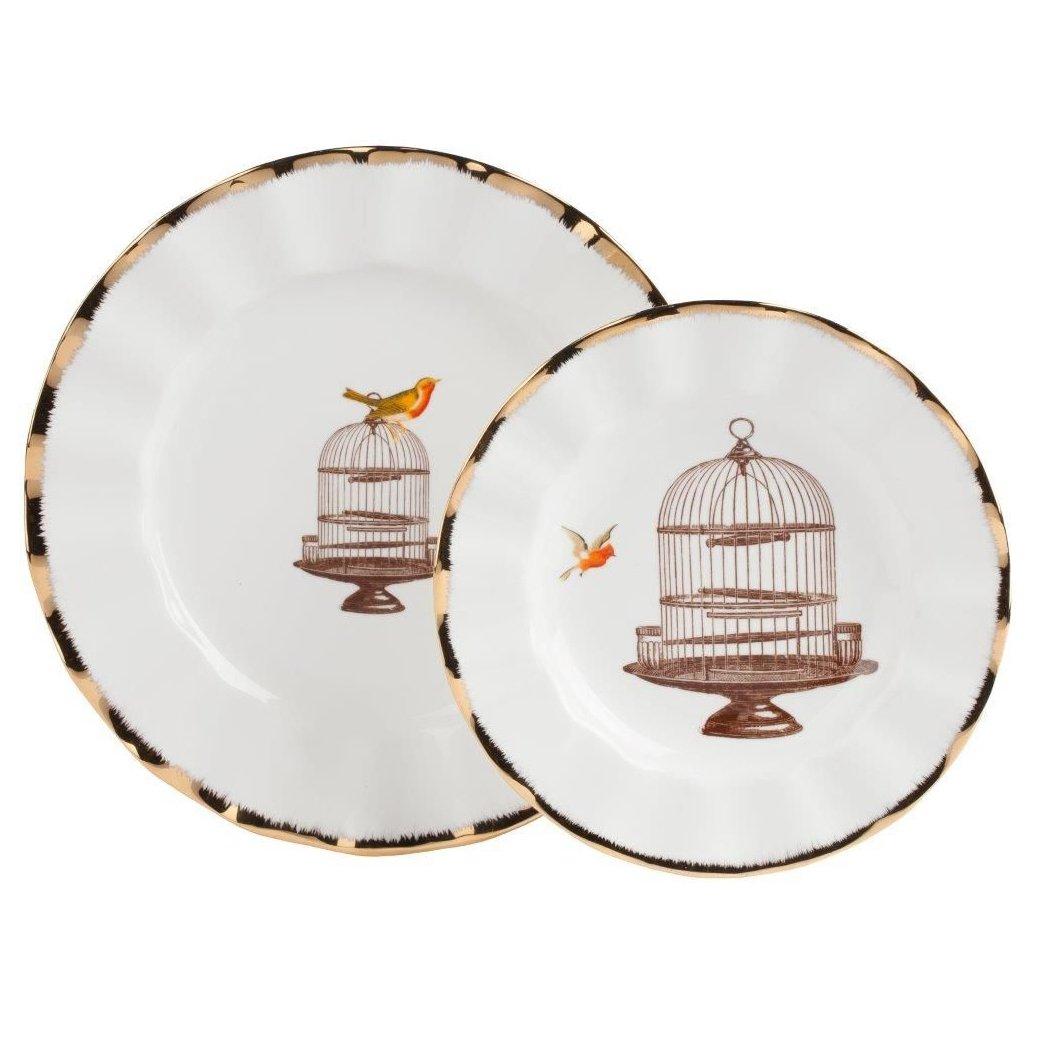 Купить Комплект тарелок Welle в интернет магазине дизайнерской мебели и аксессуаров для дома и дачи