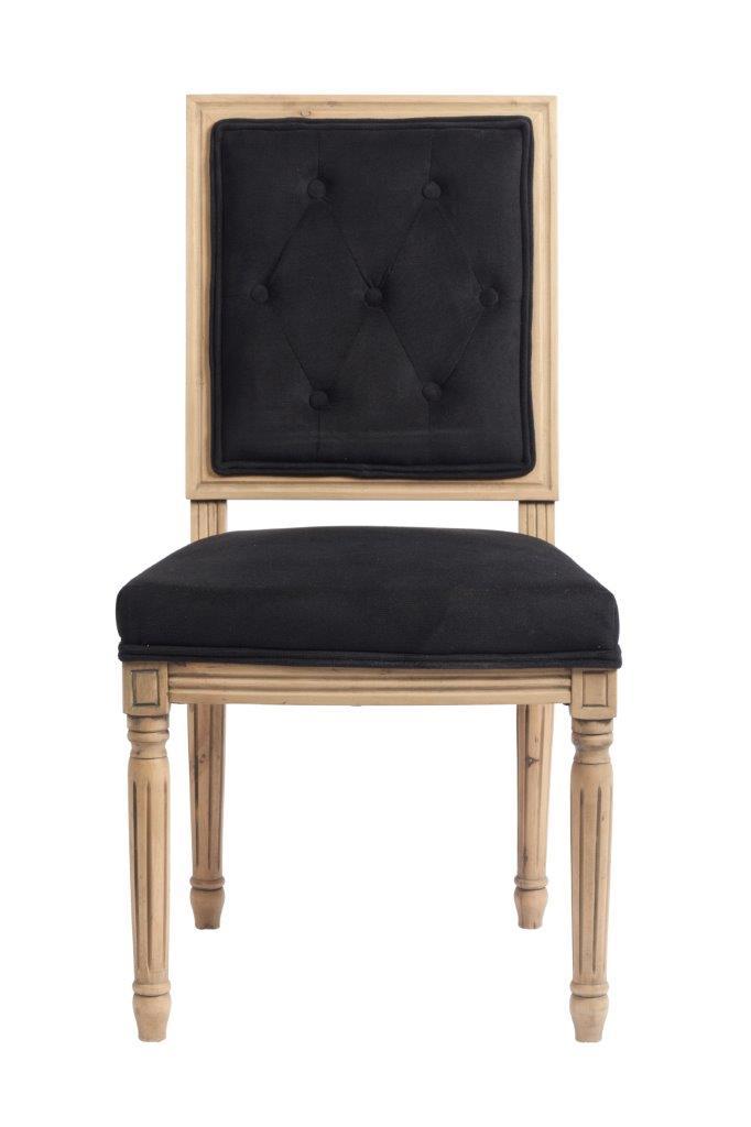 Стул Tampere BlackСтулья<br>Изысканный и по-классически строгий стул <br>Tampere — это решение для смелых людей. Те, <br>кто знает толк в искусстве, обязательно <br>оценит по достоинству новинку, любовно <br>созданную мебельными дизайнерами. Изделие <br>создано из светлого натурального дерева, <br>устойчивые высокие ножки украшены классической <br>резьбой, а практичная велюровая обивка <br>чёрного цвета придает изделию легкую винтажность. <br>Сочетание простоты и роскоши, умеренности <br>и изысканности придают стулу совершенно <br>уникальный вид. Благодаря своим контрастам <br>мебельный продукт будет великолепен в гостиных <br>различного интерьерного направления. Стул <br>обеденный для дома Tampere, это удобство и эстетика, <br>элегантность стиля и функциональность <br>на каждый день! Лучше всего несколько таких <br>стульев будут смотреться за обеденным столом.<br><br>Цвет: Чёрный<br>Материал: Ткань, Дерево, Поролон<br>Вес кг: 6<br>Длина см: 50<br>Ширина см: 55<br>Высота см: 96