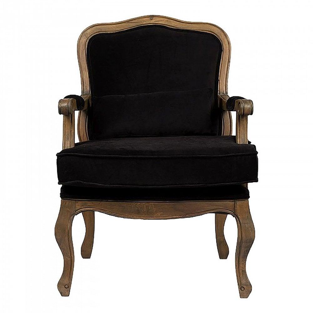 Кресло Bella Cera Черный ВельветКресла<br>Роскошное кресло Bella Cera — прекрасное дополнение <br>к интерьеру в стиле в стиле Прованс. Резные <br>подлокотники и изогнутые ножки с эффектом <br>искусственного состаривания придают креслу <br>величественный образ, а вельветовая обивка <br>чёрного цвета подчеркивает его стиль и <br>красоту, уместные и в современном городском, <br>и в загородном доме. Мягкое сиденье и удобная <br>спинка кресла позволят вам в полной мере <br>насладиться времяпрепровождением в нем. <br>Купите его прямо сейчас!<br><br>Цвет: Чёрный<br>Материал: Ткань, Дерево, Поролон<br>Вес кг: 14<br>Длина см: 68<br>Ширина см: 68<br>Высота см: 95