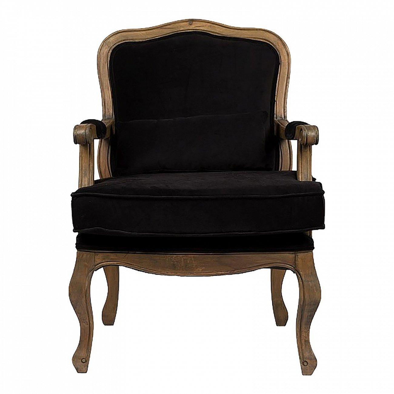Купить Кресло Bella Cera Черный Вельвет в интернет магазине дизайнерской мебели и аксессуаров для дома и дачи